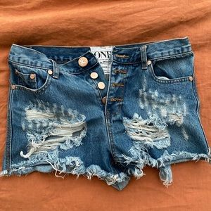 One teaspoon mini shorts